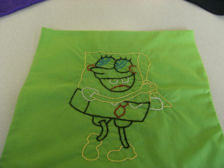 Home Economics Sewing - Spongebob
